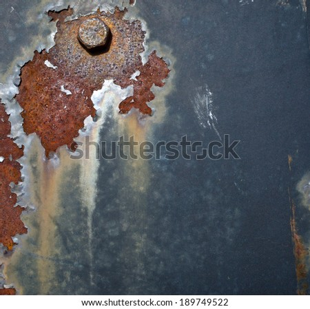 Rusted metal - stock photo