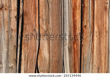 rustic barn wood close - stock photo