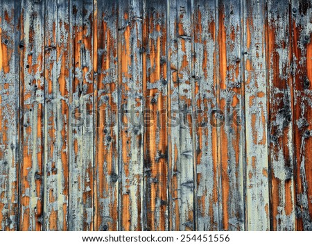 Rustic grey barn wood background. - stock photo