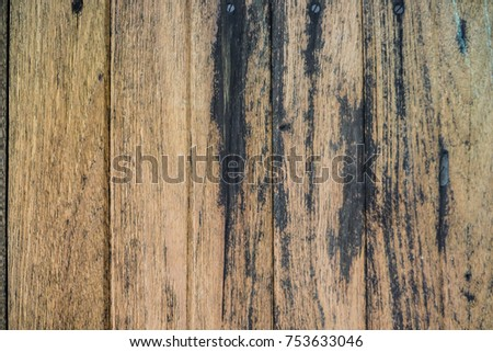 Rustic grunge wood texture background, Old wood panel