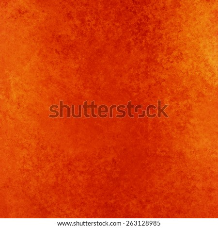 Rustic Orange Red Background With Vintage Textured Paint