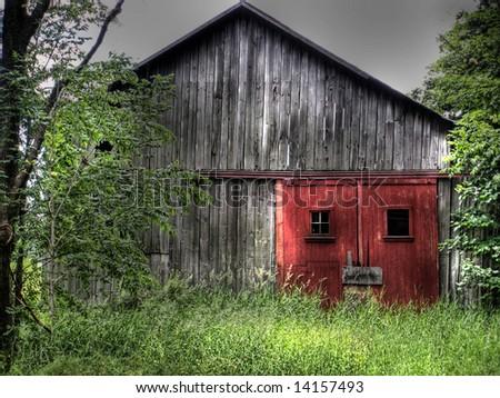 Rustic Red Barn Doors