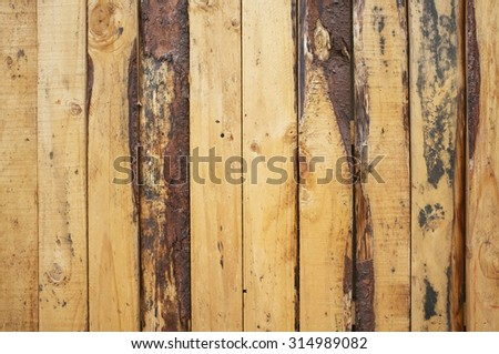 rustic wood painted blue colour background