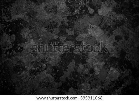 rusty black metal background - stock photo