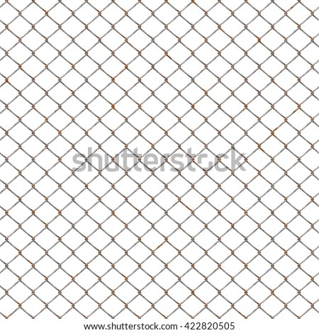 chain link fence texture seamless. Rusty Chain Link Fences Texture Background (Tiles Seamless, High-resolution 3D CG Rendering Fence Seamless X