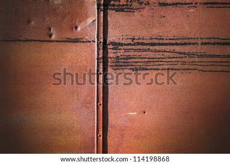 Rusty grunge metal wall detailed texture