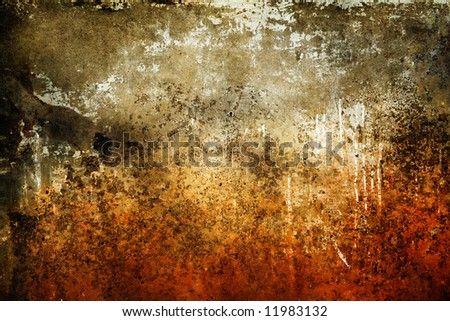 Rusty grunge texture - stock photo