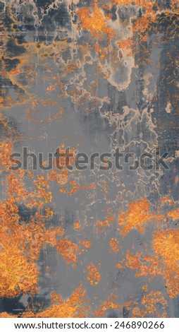 Rusty Iron Texture - stock photo