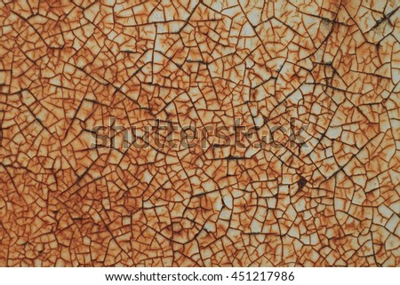 Rusty metal plate texture