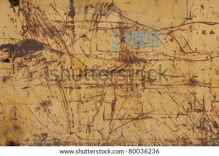 rusty metal texture - grunge old texture metallic - stock photo
