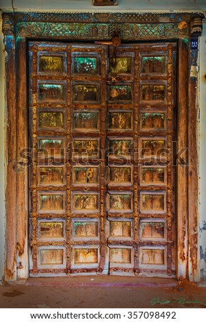 Beautiful Mexican Door Stock Photo 73304725 Shutterstock