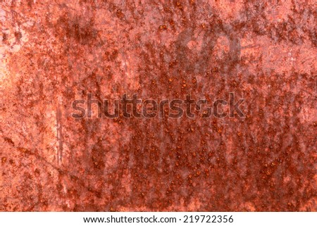 Rusty red brown grunge background. - stock photo
