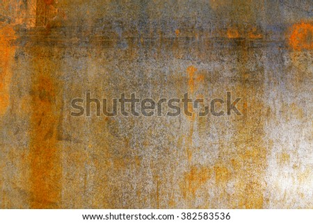 rusty steel backgrond - stock photo