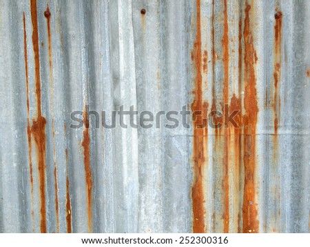 Rusty texture for background - stock photo