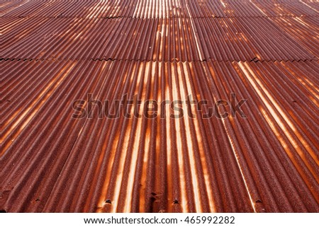 Superior Rusty Tin Roof Tiles Background