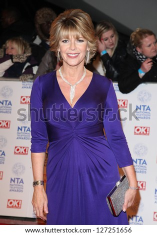 Ruth Langsford arriving for the National Television Awards 2013, at the O2 Arena, London. 23/01/2013 Picture by: Alexandra Glen