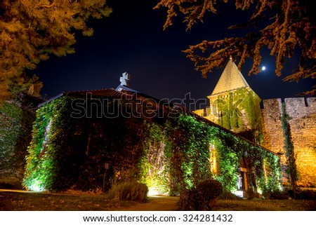 Ruzica Church at Kalemegdan fortress. Belgrade (Beograd), Serbia - stock photo