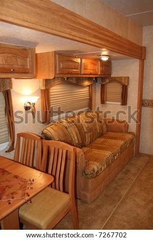RV Motorhome Camper - stock photo