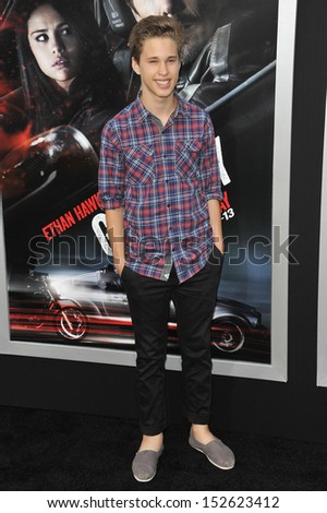 "Ryan Beatty at the premiere of ""Getaway"" at the Regency Village Theatre, Westwood. August 26, 2013  Los Angeles, CA"