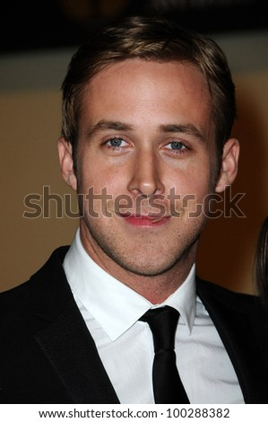 Ryan Gosling at the  2nd Annual Academy Governors Awards, Kodak Theater, Hollywood, CA.  11-14-10 - stock photo