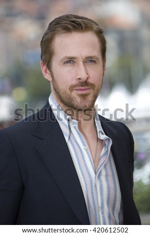 Ryan Gosling attends 'The Nice Guys' photocall during the 69th annual Cannes Film Festival at the Palais des Festivals on May 15, 2016 in Cannes, - stock photo