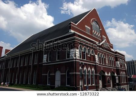 Ryman Auditorium Nashville Tennessee - stock photo