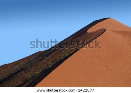 S dune - stock photo