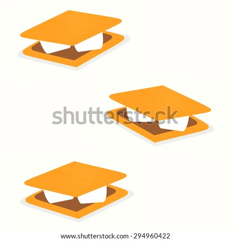 S'mores - stock photo