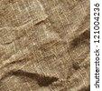 sack texture background - stock photo