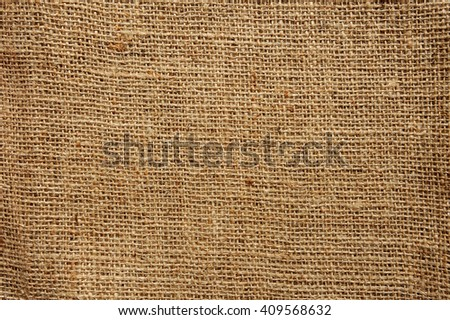Sackcloth texture background. Natural sackcloth, Texture Pattern Closeup, textured for background. - stock photo