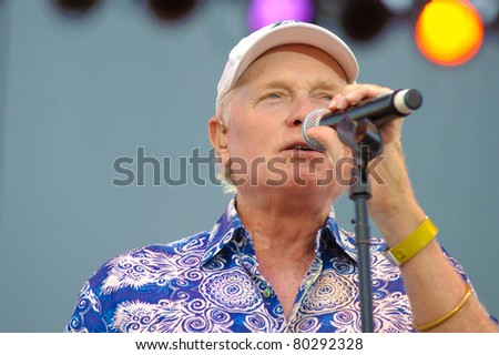 SACRAMENTO, CA - July 1: Mike Love performs with The Beach Boys at Thunder Valley Casino on July 1, 2011 in Rocklin, CA