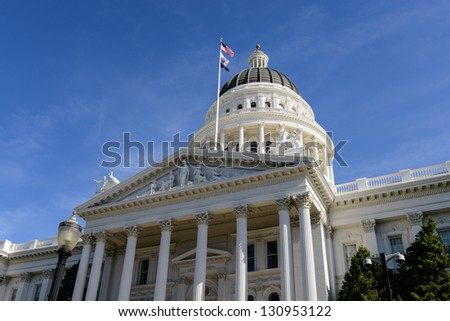 Sacramento California Capitol - stock photo