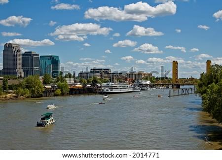 Sacramento River - stock photo