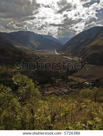 Sacred Valley Peru - stock photo