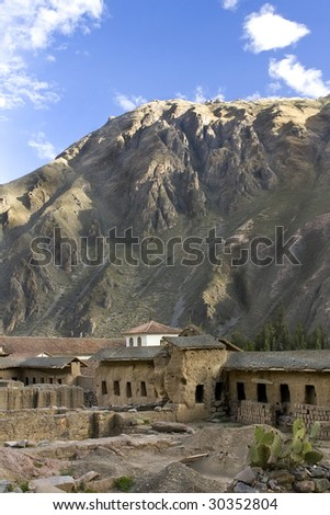 Sacred Valleys of the Incas in Peru - stock photo