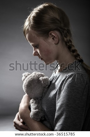 Sadness - stock photo