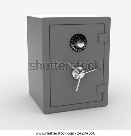Safe - stock photo