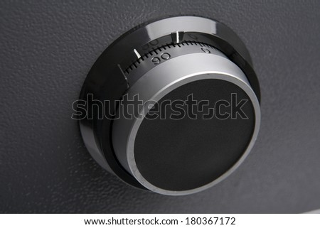 Safe combination  - stock photo