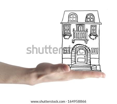 Safe House - stock photo