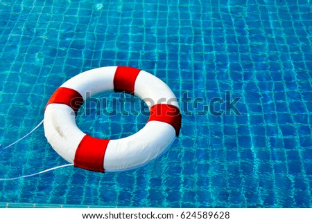 Safety Equipment Life Buoy Rescue Buoy Stock Photo 624589628 Shutterstock