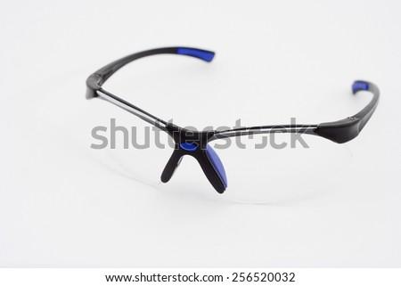 Safety glasses - stock photo