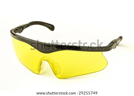 Safety glasses - stock photo