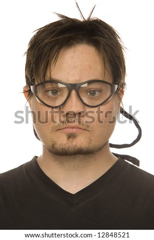 safety goggles - stock photo