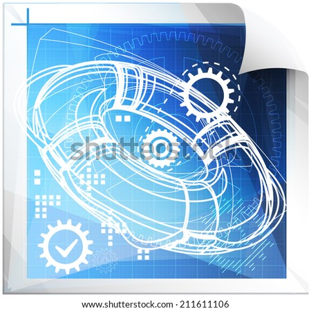 Safety Planning Technical Issues - Illustration - stock photo