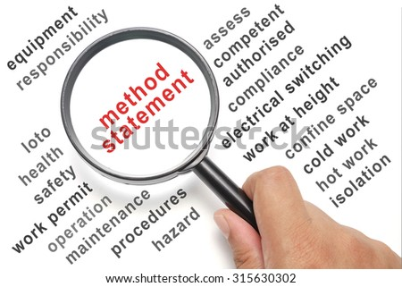 Safety Work Permit conceptual focusing on Protective Equipment - stock photo
