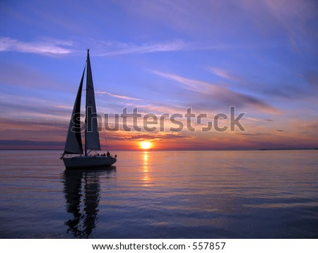 Sail - stock photo