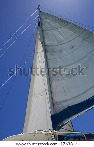 Sail Away - stock photo