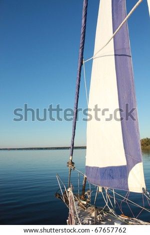 sail boat on the water