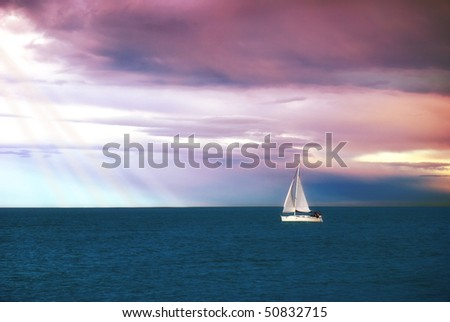 sail to new wonderful place
