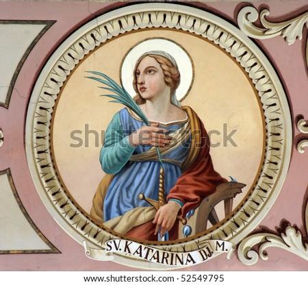Saint Catherine - stock photo